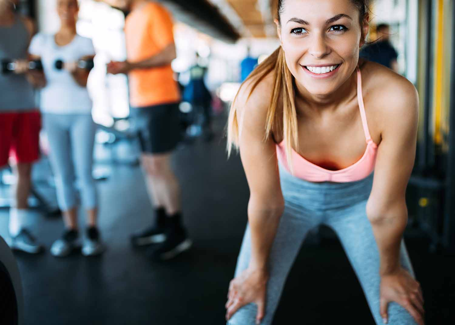 Envisagym Personal Training Gym Ranelagh Dublin From €139 Per Month Our Services Woman Smiling Gym