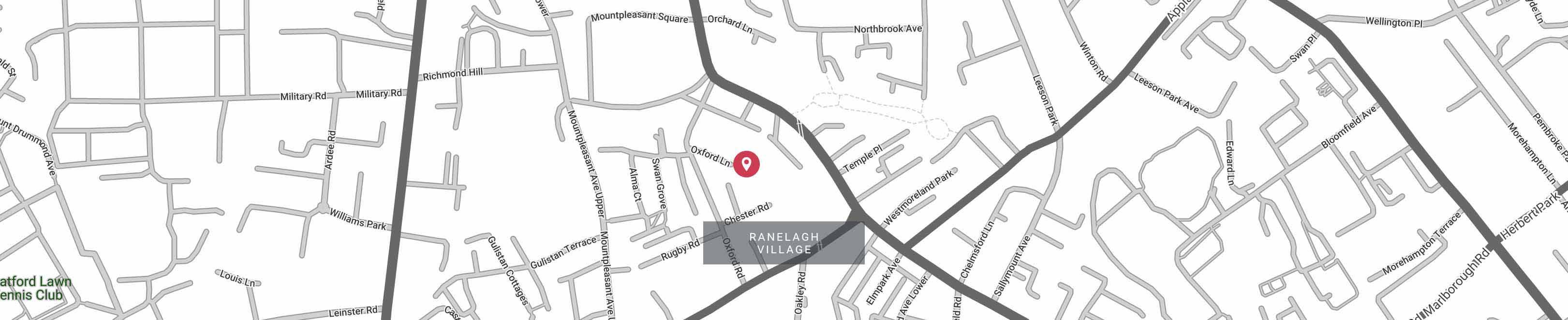 Ranelagh Envisagym Map Dublin Personal Training